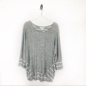 Market & Spruce Ansell Scoop Neck Dolman Knit Top